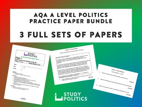 AQA A Level Practice Paper Bundle