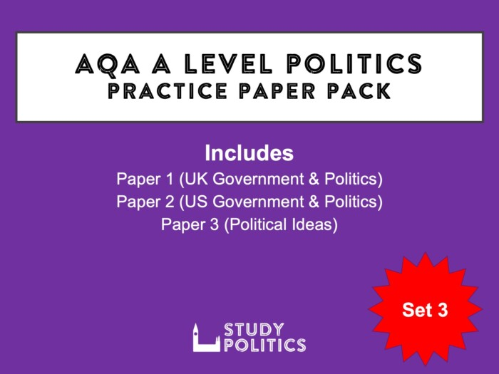 AQA A Level Set 3