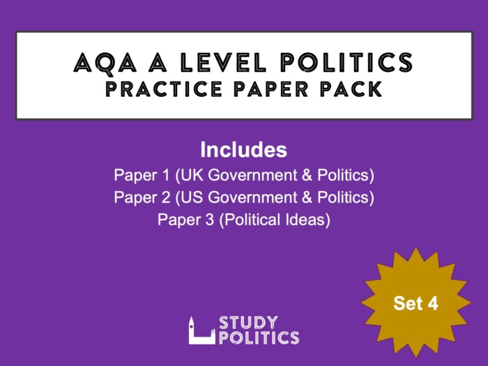 AQA A Level Set 4