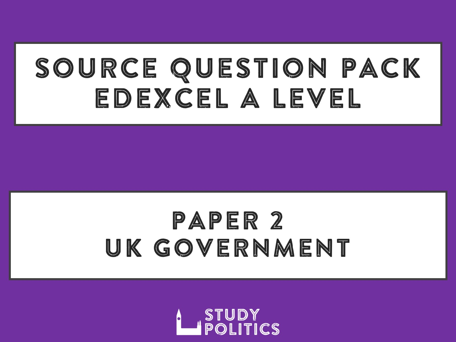 Source Question Pack for Edexcel A Level Paper 2