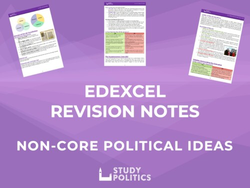 Edexcel Non Core Ideas Revision Notes