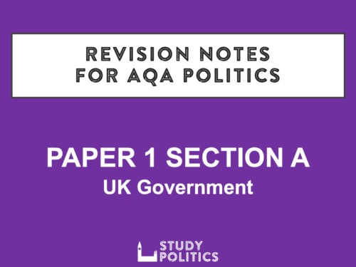 AQA Revision Notes Paper 1A
