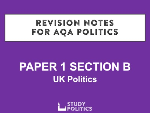 AQA Revision Notes Paper 1B