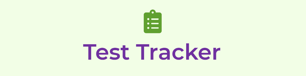 Test Trackers