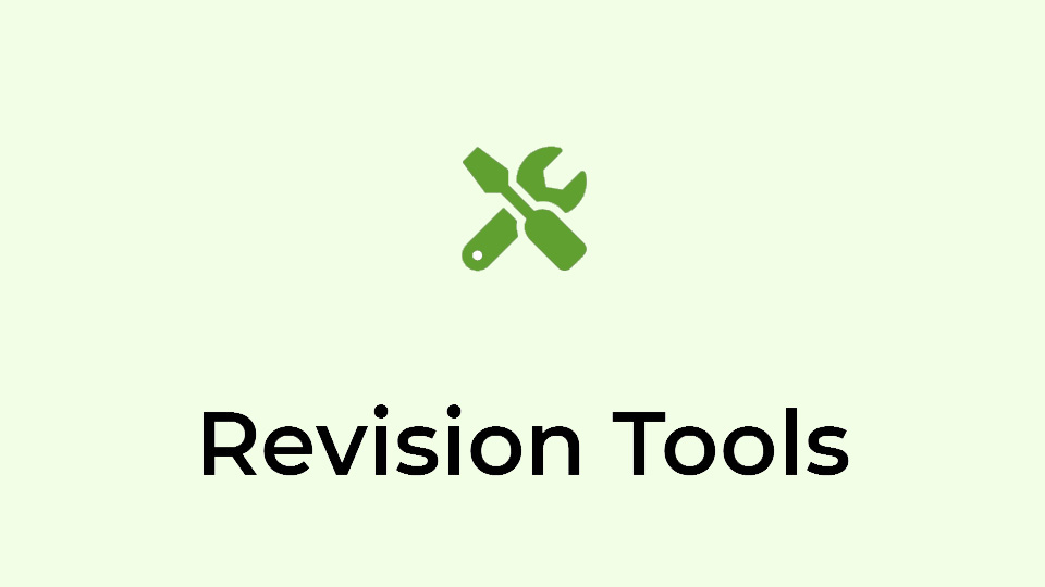 Revision Tools